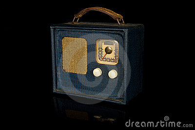 Retro Vintage Portable Radio