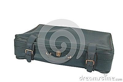 Retro Vintage Suitcase (isolated)