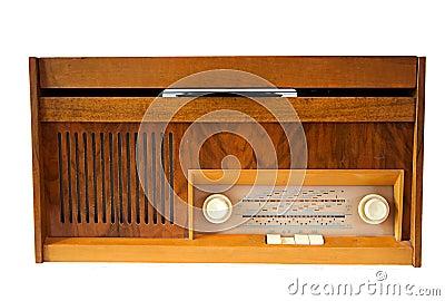 Retro vinyl gramophone.