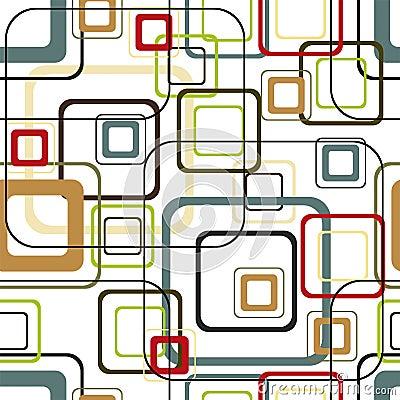 Free Retro Vivid Square Pattern Stock Images - 5257064