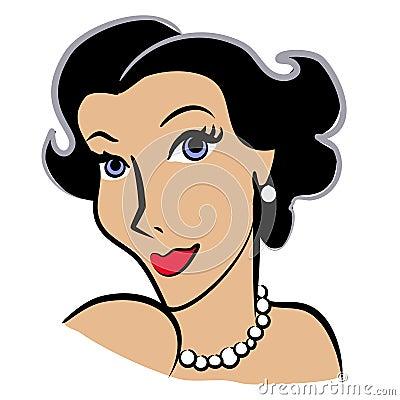 Clip Art Woman Clip Art faces of women clip art 2 royalty free stock photography image 2925997