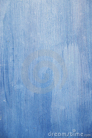 Retro wooden wall blue color