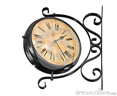Retro zegar