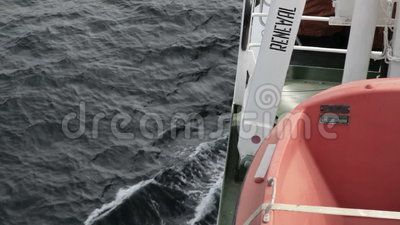 Rettungsboot stock video footage