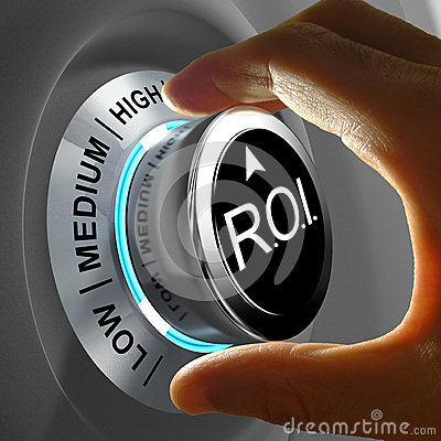 Free Return Of Investment (ROI) Is The Gains Compared To The Cost Royalty Free Stock Photo - 42512715