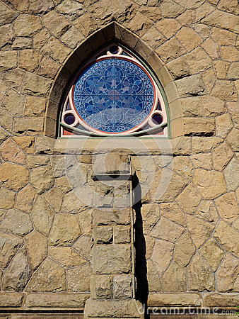 Free Reuleaux Triangle Style Church Window Stock Photos - 58617113