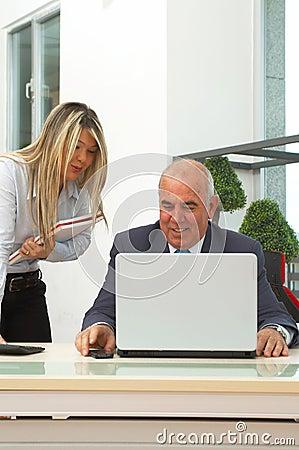 Reunião de negócio