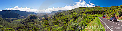 Reunion Island landscape
