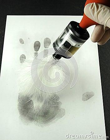 Revealing the fingerprints