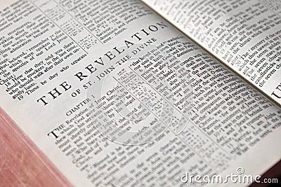 Revelation text background
