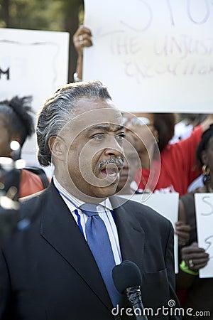The Reverend Al Sharpton Editorial Image
