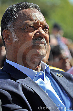 Reverend Jesse Jackson Editorial Image