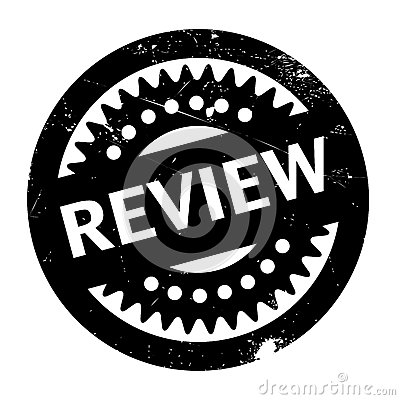Free Review Rubber Stamp Royalty Free Stock Photos - 87577738