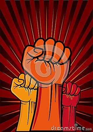 Free Revolution Fist Stock Photos - 16172153