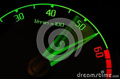 Revolution tachometer