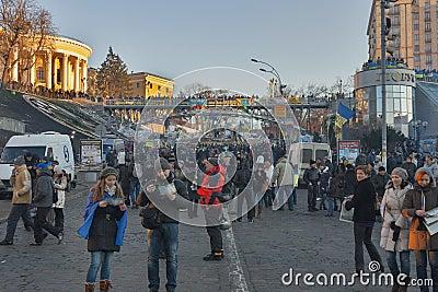 Revolution in Ukraine. EuroMaidan. Editorial Photography