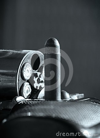 Revolver and bullet