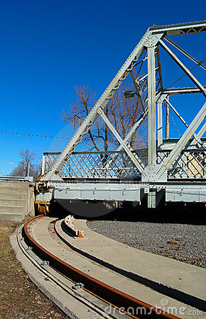 Revolving bridge, Canada.
