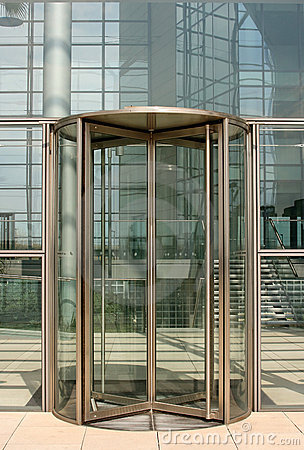 Free Revolving Door Stock Photography - 3788552