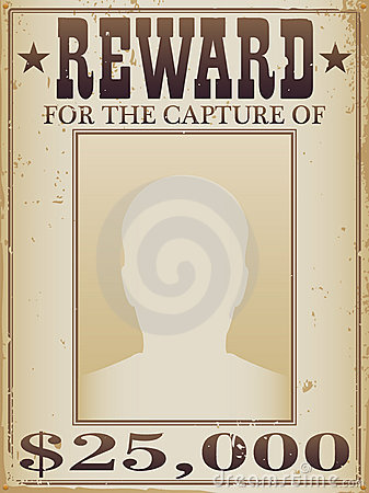Beautiful Missing Reward Poster Template Pictures - Sample Resumes ...