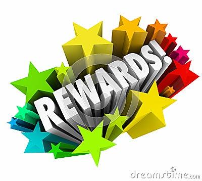 Free Rewards 3d Word Stars Prize Incentive Bonus Enticement Stock Image - 47493081