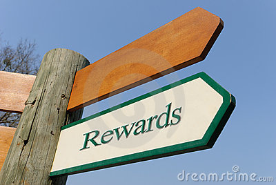 Rewards signpost