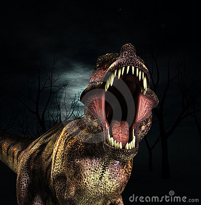 Rex vrålar t