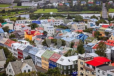 Reykjavik dachy