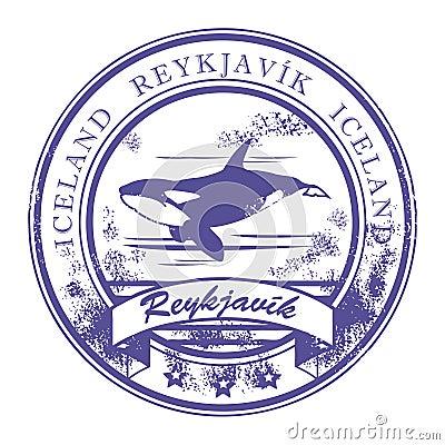 Reykjavik, Iceland stamp