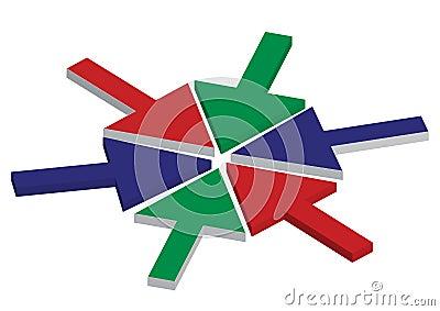 RGB arrows