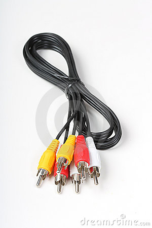 Free RGB Cable Royalty Free Stock Images - 13236519