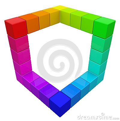 RGB & CMYK Color Cube.