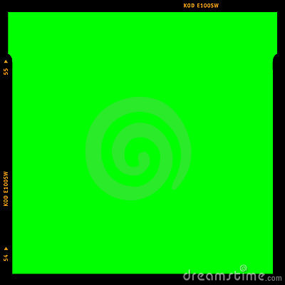 RGB Film strip frame