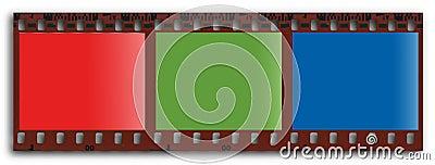 RGB filmstrip