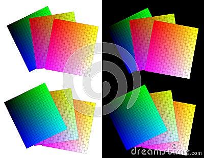 RGB color palettes - cdr format