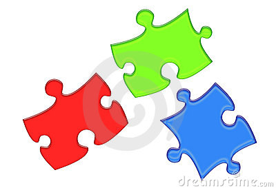 RGB Puzzle Pieces