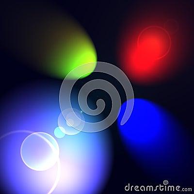 RGB spot lights