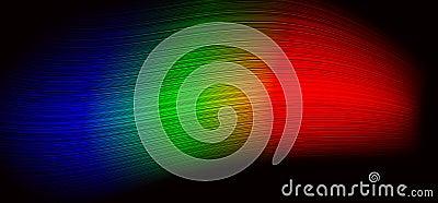RGB wave