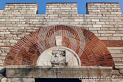 Rhegion Gate in Istanbul
