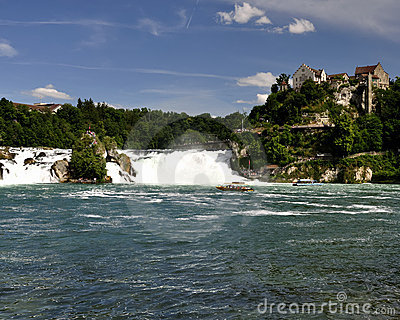 Rheinfall Switzerland.