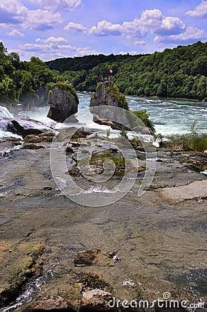 Rheinfall Switzerland.