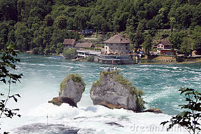 Rheinfall waterfall