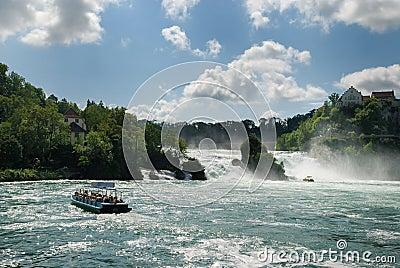 Rhine Falls.