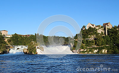 Rhine Falls panorama, Switzerland