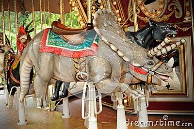 Rhinoceros circus