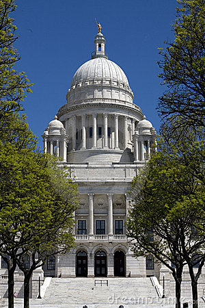 Rhode Island State House Front View
