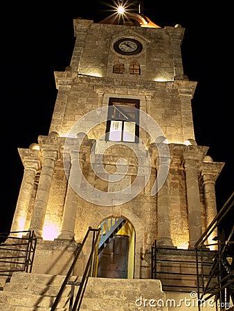 Rhodes Clock Tower