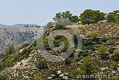 Rhodes hills