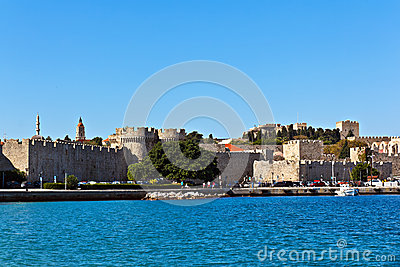 Rhodes medieval castle