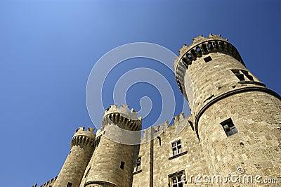 Rhodes Medieval Knights Castle, Greece